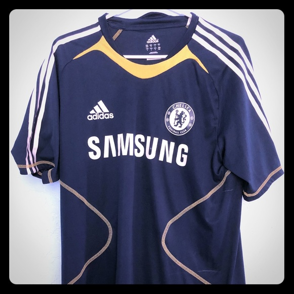 the latest 17457 403bd Chelsea Football Club team jersey